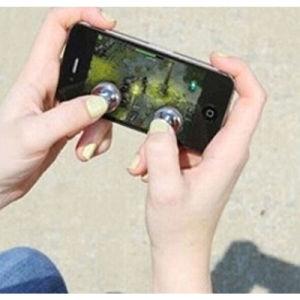 Punho do manche do jogo dos acessórios do telefone móvel