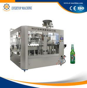 De automatische het Vullen van het Bier Bottelmachine van het Bier van de Apparatuur