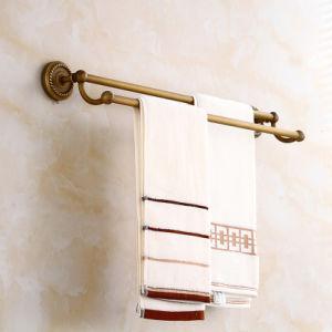 Staven van de Handdoek van de Badkamers van Flg de Antieke Dubbele met Stevig Messing