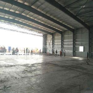 Hangar de la estructura de acero prefabricada de construcción con mejor diseño