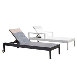 Для отдыхающих бассейн балкон пляж плетеной палубе стул лежа кровать с колеса