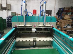 機械を作るDfr450X2 2ラインヒートシールの熱の切断袋