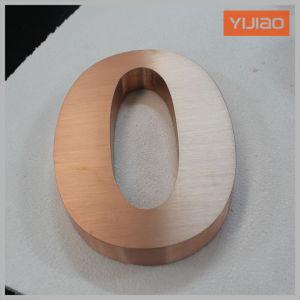 Laser 광고 사무실 수신을%s 커트에 의하여 솔질되는 금속 채널 편지