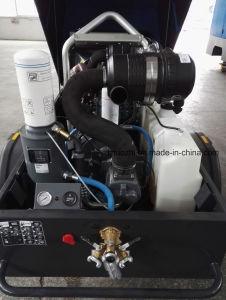 178cfmディーゼル携帯用空気圧縮機
