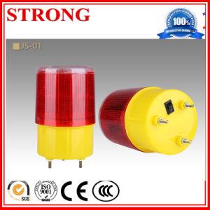 Indicatore luminoso di ostruzione di salto rotativo della costruzione lampeggio/dell'istantaneo 8 LED per la gru a torre