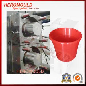 2 pote de flores do molde plástico da cavidade do molde de injeção Heromold