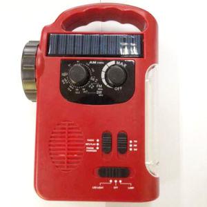 TF Card Leitor MP3 Porta USB Carregador de rádio de Emergência (HT-658)
