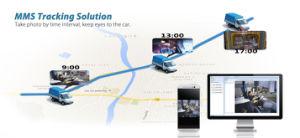 Автомобиль GPS Tracker с фотографии при активных предупреждений
