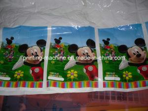 8 colores de alta velocidad de la Flexografía máquina de impresión (CH888)