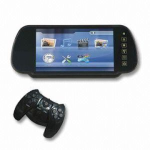 7 Monitor van de Spiegel van de Mening van de duim de Achter met Spelen en Bluetooth met 32 bits