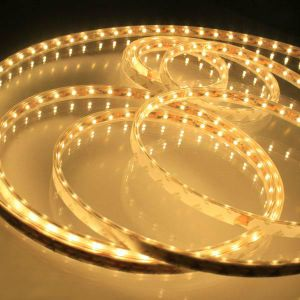 5m 5050 Warm White DC12V 300 SMD LED Flexible Strip Light Non Water Proof (ECO-F5050WW60W-12V)