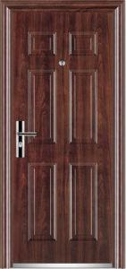 La puerta de seguridad de acero / Puerta de Metal / Puerta de entrada (FA-S09)