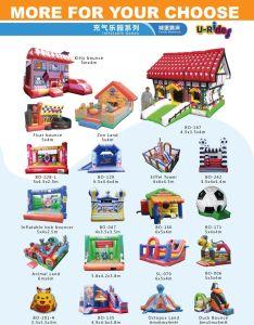 Parque Zoológico de Animales comerciales puente inflables castillo inflable castillo inflable con obstáculos