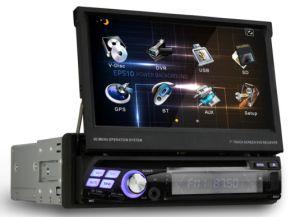 Универсальный автомобиль (DVD 1 DIN 7-дюймовый сенсорный экран с бесплатные карты GPS RTD860)