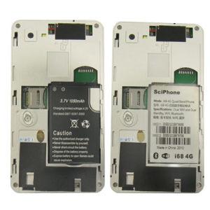 3.2 polegadas cartões SIM Dual Standby quad band Celular com WiFi I68 4G