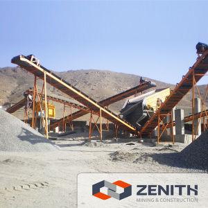 Línea de producción de piedra, planta trituradora de piedra