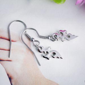 Hip-Hop Hip-Hop Cool Girl Earrings Flaming Boucles de couteau