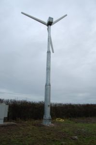 20kw 지적인 비 꼬리 바람 터빈 발전기