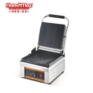 180 Nonstick Panini électrique ouvert Appuyez sur le grill en aluminium moulé et plaques de gril
