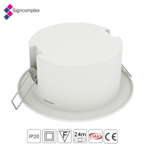 Superventas Ce /RoHS/AEA Certificed LED recargable Downlight de emergencia