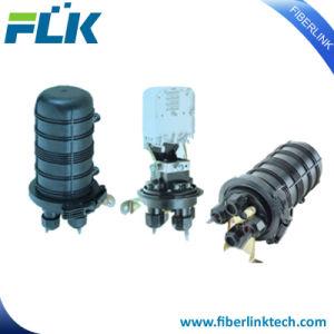 Empalme de fibra óptica FTTH FTTX Fosc alojamiento tipo Domo