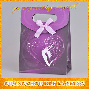 Custom рекламных подарков бумаги пакет обновления магазинов (BLF-PB091)