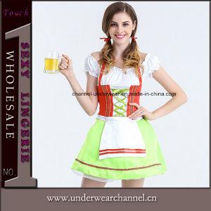2017 L'Halloween Oktoberfest Baviran allemand cosplay costume adulte jeune fille de la bière (TLQZ10001)