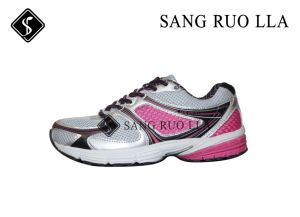 Nuevo diseño de la mujer deporte zapatos para correr