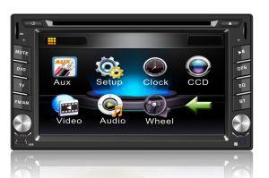 도매 유니버설 2 DIN Am/Bluetooth/USB를 가진 6.2 인치 접촉 스크린 차 DVD 플레이어