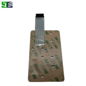 Teclas planas de alta calidad Non-Tactile Teclado de membrana para microondas