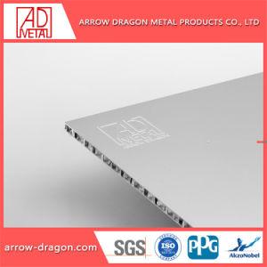Painel de alumínio alveolado personalizados curvos