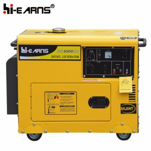 三相Air-Cooled無声タイプディーゼル発電機セット(DG3500SE3)