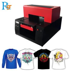 Dirigere verso la stampatrice dell'indumento/maglietta, la stampante in bianco e nero /Textile, tessuti della maglietta della tessile dell'indumento di DTG di stampaggio di tessuti