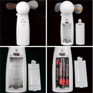 Mini ventilatore elettrico del messaggio su ordinazione pratico portatile del LED