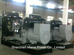 440kVA 352kw 대기 등급 힘 Pekins 침묵하는 디젤 엔진 발전기