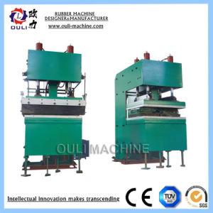 China-Laborelektronische Heizung verwendete Gummimatten-vulkanisierenpresse mit der Wasserkühlung