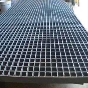 El FRP/GRP cuadrícula para la planta, los pasos de escaleras, plataformas, pasarelas de trinchera,