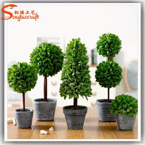 Un diseño distintivo de Bonsai árboles artificiales decorativos de metal