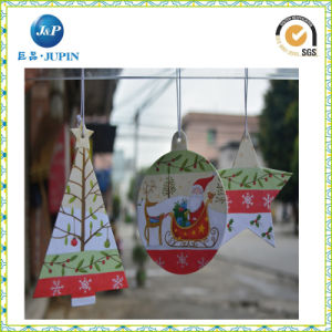 La promoción del papel de regalo de Navidad colgante coche Ambientador/Coche Perfume (JP-AR077)