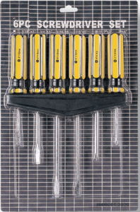 Gekerbter/Kreuzkopfkohlenstoffstahl-Schraubenzieher (MF0204)