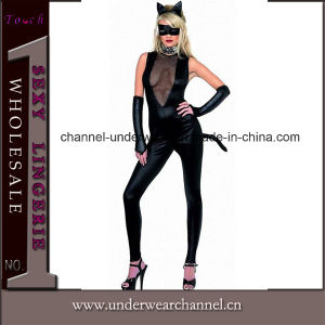 Les femmes sexy Fancy cosplay costume Catsuit parti (TXX048)