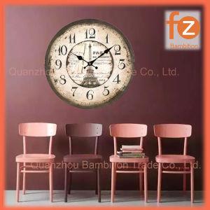 (0.5Cm caliente el cuerpo), la venta de varios estilos innovadores comercio al por mayor Reloj de pared Pared Vintage Antiguo reloj redondo de madera para la decoración del hogar016007-32 Fz.