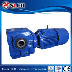 Lifting Machine를 위한 S 시리즈 Helical Worm Gear Unit Gearmotor