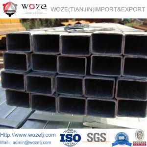 Quadrato nero della l$signora ERW di Shs e tubi vuoti rettangolari della sezione