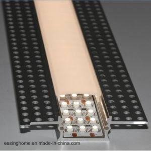 Profilo di alluminio messo del LED per il profilo dell'interno dell'intonaco della parete asciutta per l'indicatore luminoso di striscia