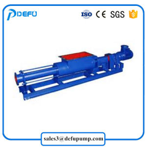 Abwasser-Klärschlamm-Papiermassen-Nahrungsmittelübergangsmonoschrauben-Pumpe