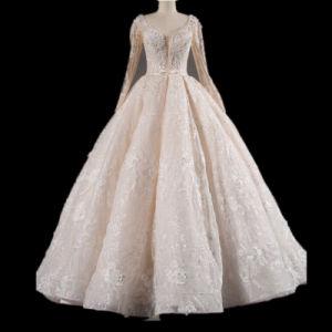 De bruids Kleding Wgf1712-32 van het Huwelijk van de Toga