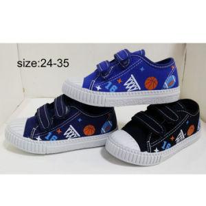 Inyección de nuevo estilo de los niños del muchacho Sneakers zapatos casual Zapatos de lona (HH1810-10)
