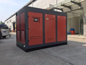 Compressor In twee stadia van de Lucht van de Olie van de schroef de Industriële Gesmeerde