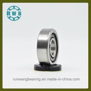 Fila única de contacto angular los rodamientos para husillos de Máquinas-Herramienta de precisión, fábrica de producción (7304B)
